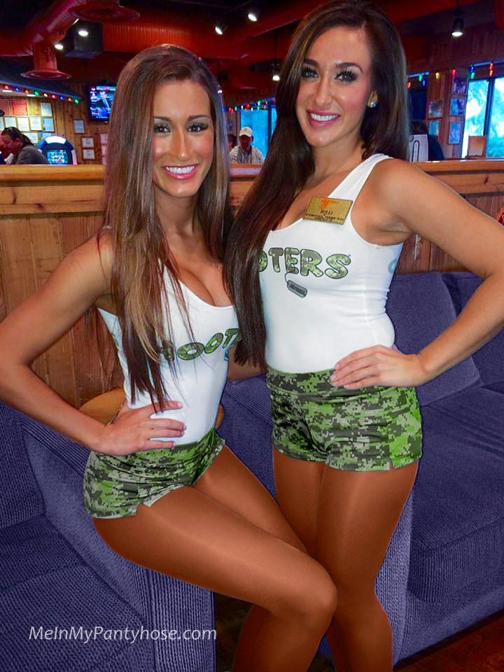Apologise, waitress shorts and pantyhose share your