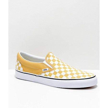 2e70459347d867 Vans Pineapple Checkerboard Slide-On Sandals in 2019