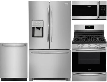 Frigidaire 916924 4 Piece Stainless Steel Kitchen Appliances