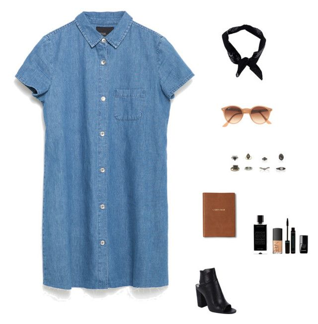 """Untitled #1330"" by tayloremily218 on Polyvore featuring Zara, Dolce Vita, Boohoo, Ray-Ban, Topshop, le top, NARS Cosmetics, Agonist and Monica Rich Kosann"