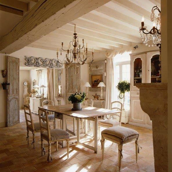 comedor estilo provenzal francés | Casas provenzales | Pinterest ...
