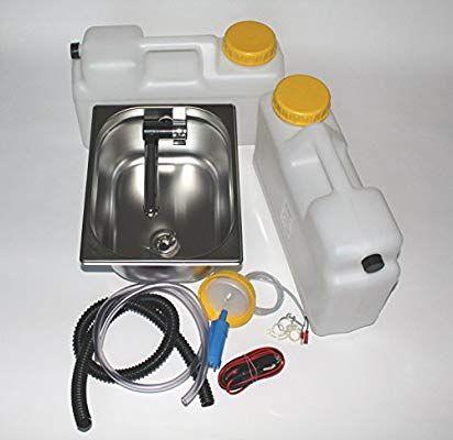 Ad Ideen.Wasseranlage Imbisswagen Verkaufsanhänger Campingküche 12v