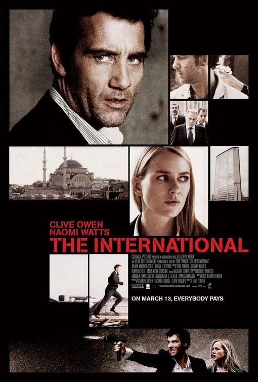 The International 2009 Clive Owen Peliculas Carteles De Cine