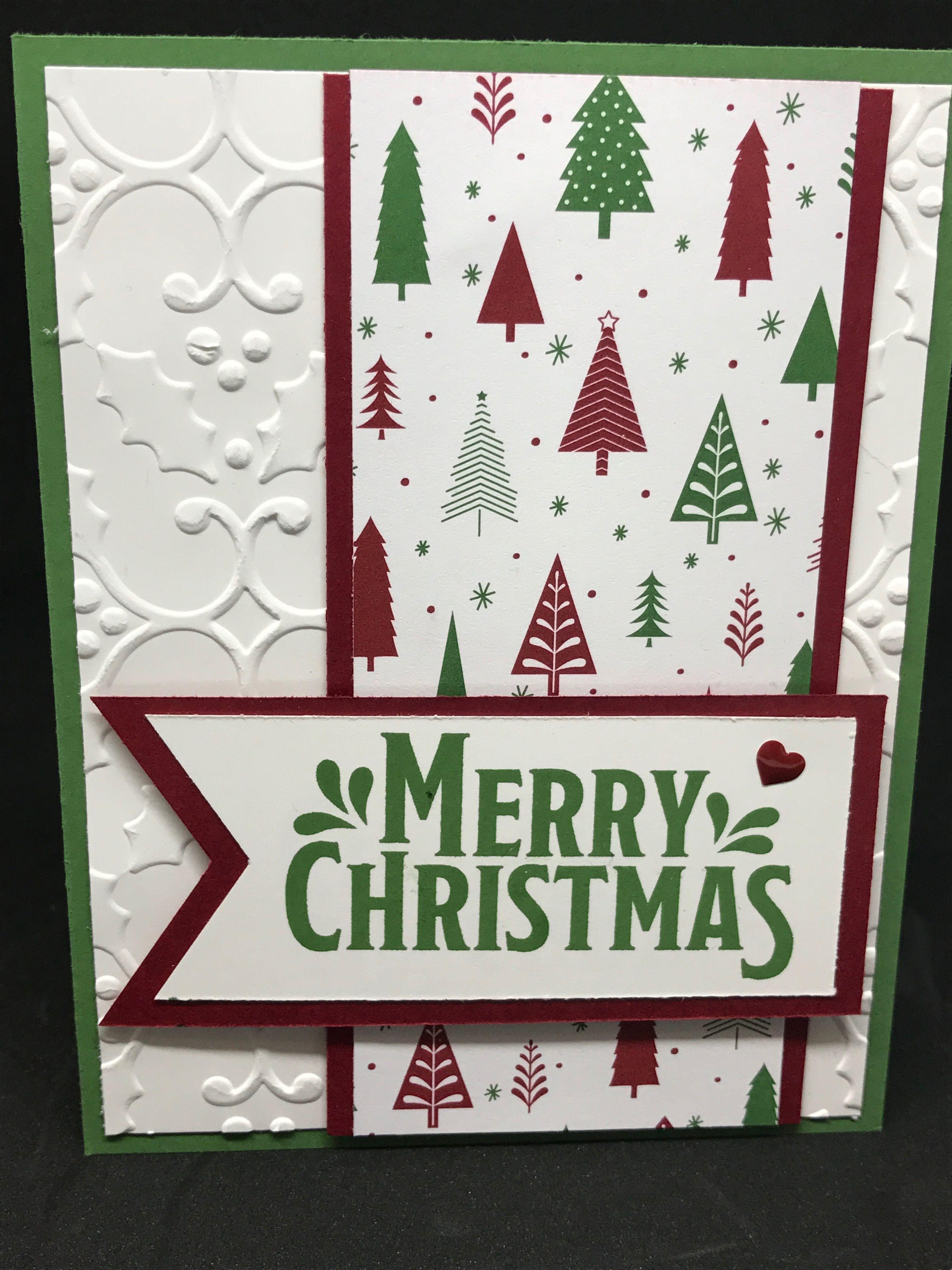 Pour toute la famille ornée de Noël Carte de vœux spécial Noël Cartes