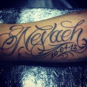 Tattoo Pictures With Name Nevaeh Picture Tattoos Baby Name Tattoos Tattoos