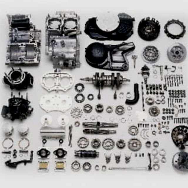Yamaha Banshee 2 Stroke Engine Disassembled Shit Pinterest