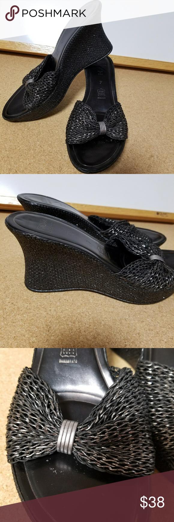 44a933dbe PRICE DROP!Vero Cuoio wedge sandals