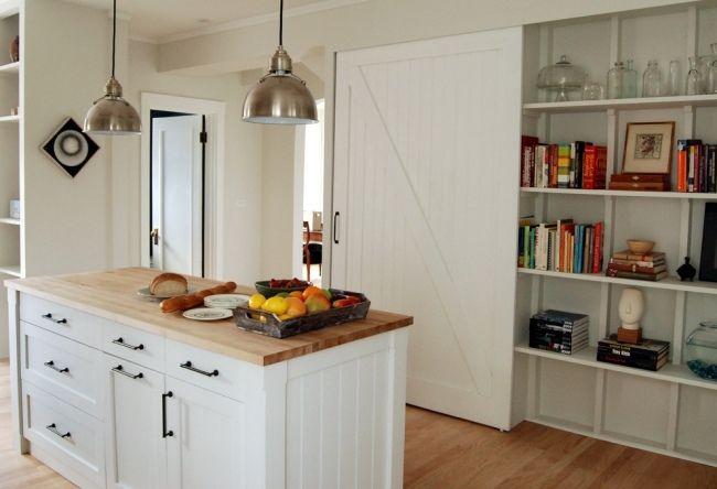 weiße küche mit holz - Google-Suche Küche mit Charme Pinterest - k che mit holz