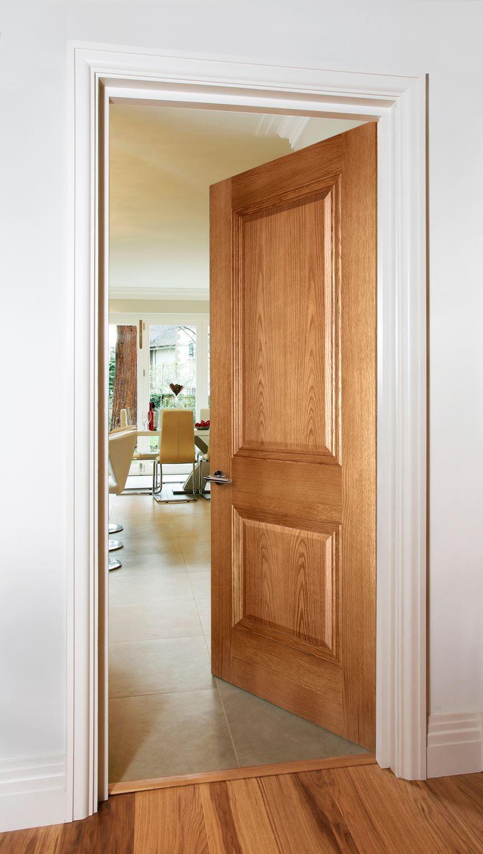 Kensington 2 Panel Oak Oak Doors Light Oak Door Design Interior