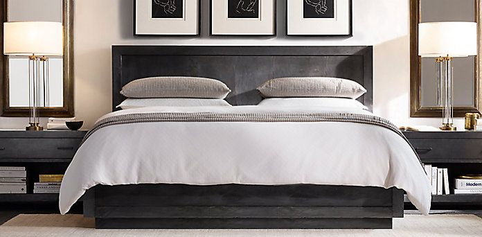 Browse Our Selection Of Traditional Bedroom Furniture Bedroom Sets From Restoration Hardware