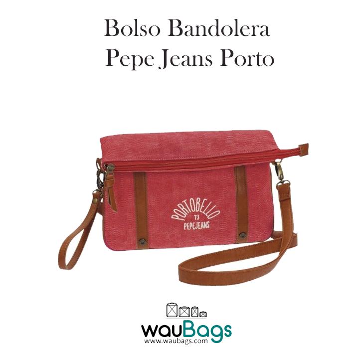 Jeans Por Dos Bolso Bandolera Porto Y Cierre Pepe Con Cremallera kTiPXZwOu