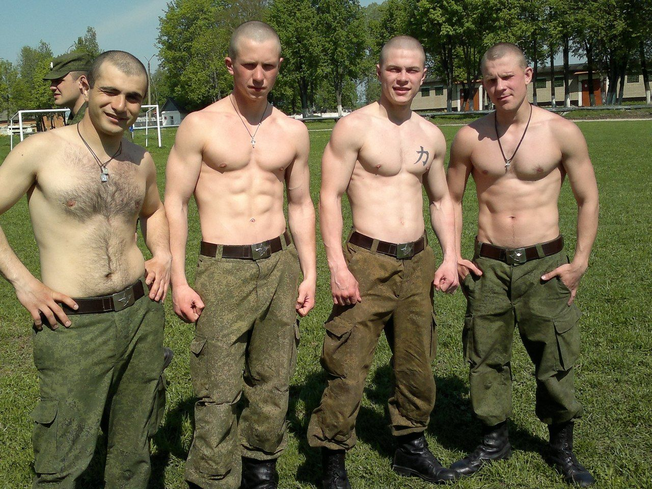 Soldier boys naked gay first time hot kinky