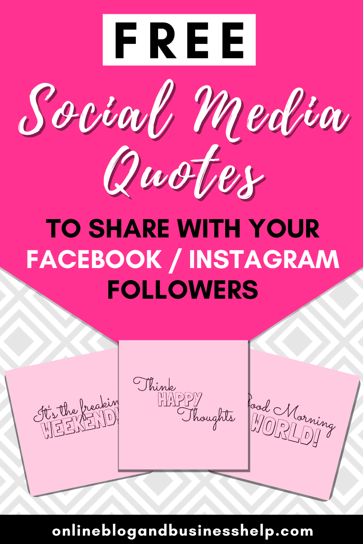 Free Social Media Sharing Images! Need a break from