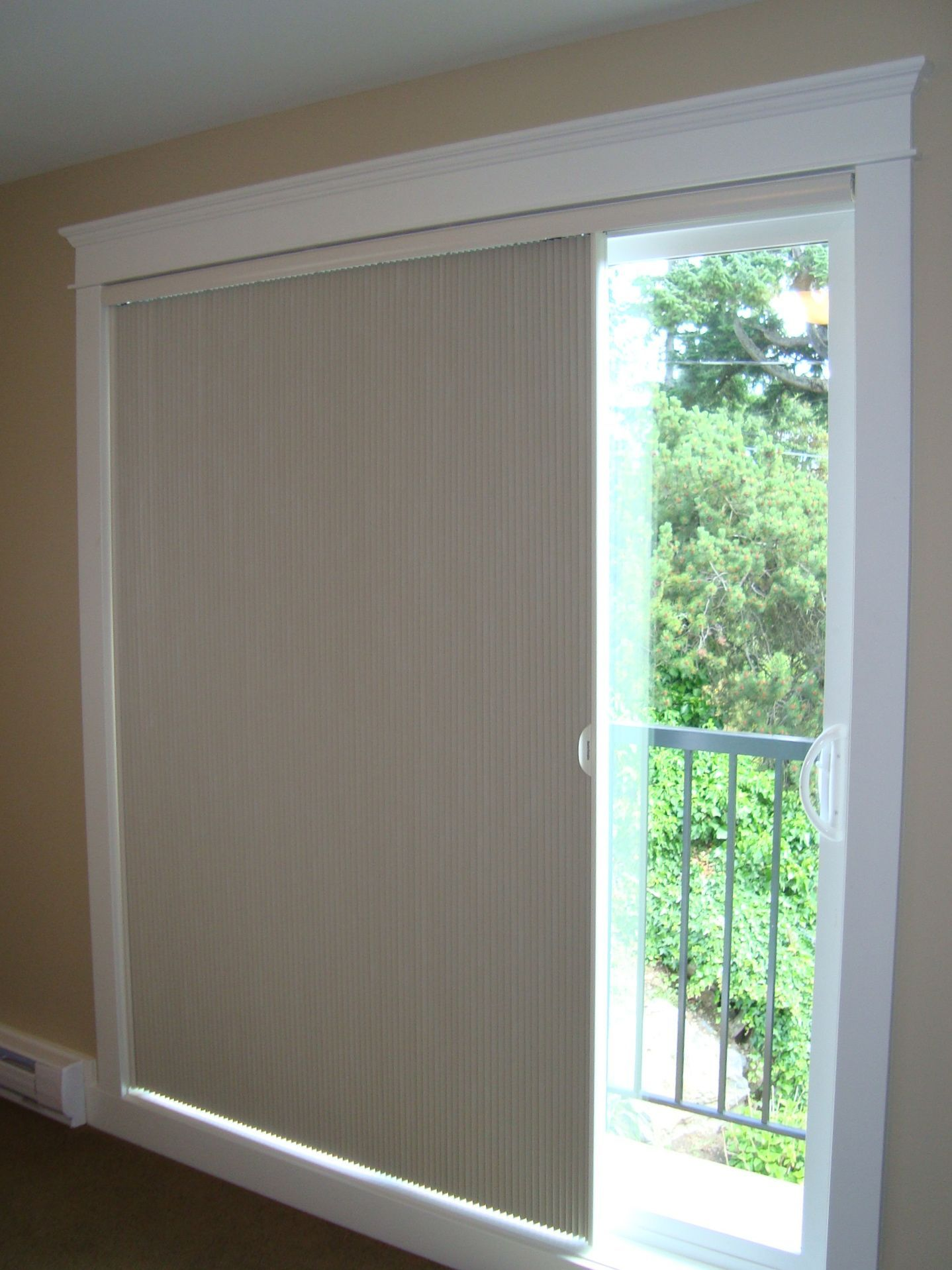 Blinds For Sliding Gl Doors Shade