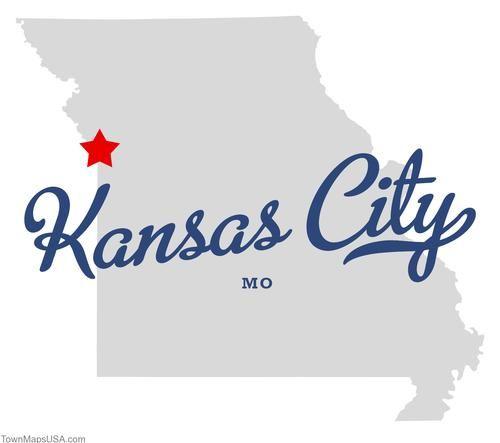 Map Of Kansas City Missouri Mo Art Posters Pinterest Kansas