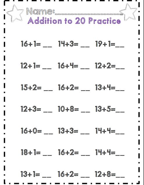 First Grade Algebraic Thinking Operations Common Core Unit First Grade Math Worksheets First Grade Math Montessori Math Activities