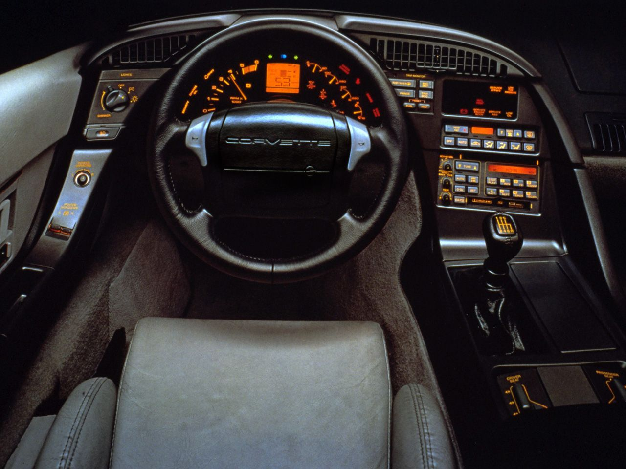 1995 corvette interior chevrolet corvette c4 manual transmission super sport buick cadillac [ 1280 x 960 Pixel ]