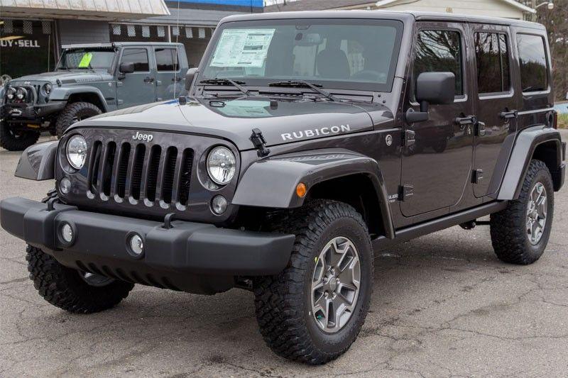 2014 Custom Jeep Wrangler Rubicon Unlimited Granite Two