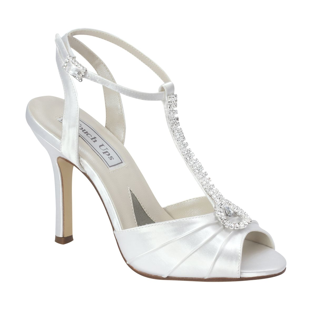 Good White Touch Ups Izzie Bridal Shoes $71.99