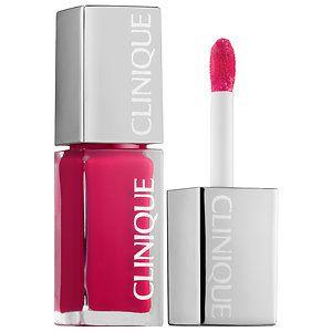 CLINIQUE - Pop Laquer Lip Colour + Primer  in Cocoa Pop #sephora