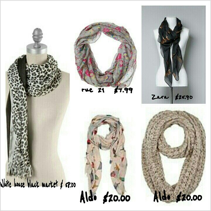 Hope it can help you find a scarf that you like...