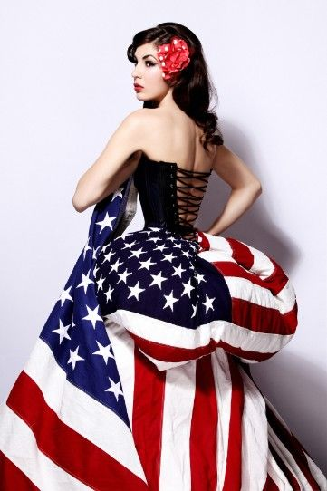 Thehouseofhannigan Com American Flag Dress Flag Dress All American Girl