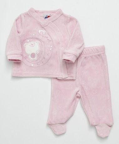 Conjunto Baby de 2 pçs Rosa