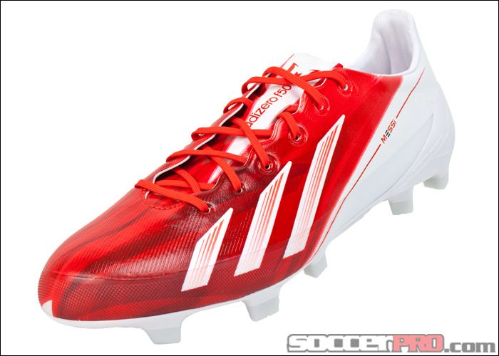 adidas Messi F50 adizero TRX FG Soccer Cleats - Red with White...$197.99