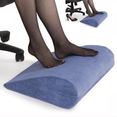 3 Form Under Desk Foot Rest Pillow Beige Foot rest Footrest and
