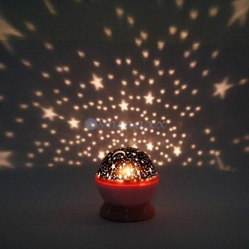 Brand new beauty rotation star sky night projector light lamp four brand new beauty rotation star sky night projector light lamp four colors random mozeypictures
