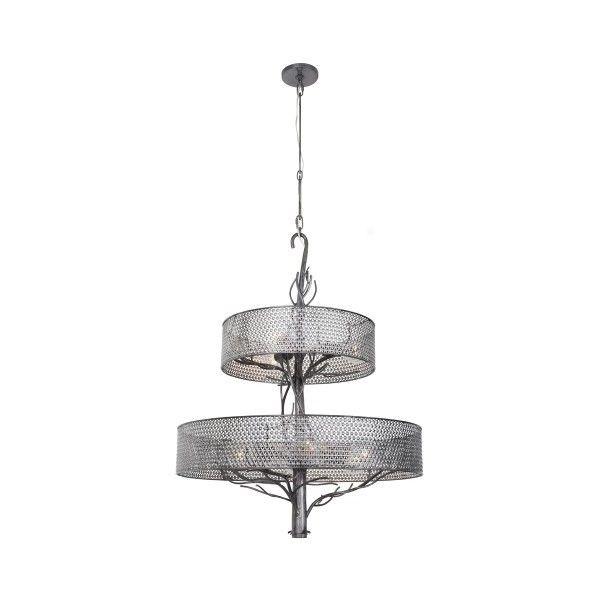 Varaluz Treefold 9 Light Chandelier ($999) ❤ liked on Polyvore ...