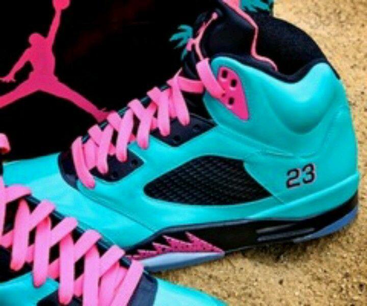 brand new a5d03 abc7e Pink and blue Micheal Jordans  23 )