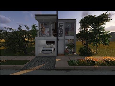 Casa de 6x15 mts de terreno youtube casitas in 2019 for Casa moderna minimalista 6 00 m x 12 50 m 220 m2