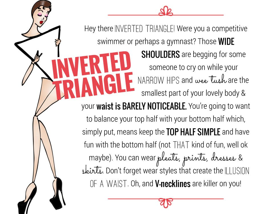 Inverted Triangle Body Shape Triangle Body Shape Inverted Triangle Inverted Triangle Body