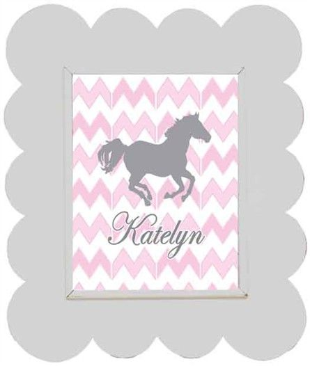 Chevron Horse Framed Art | Horse, Room and Bedrooms