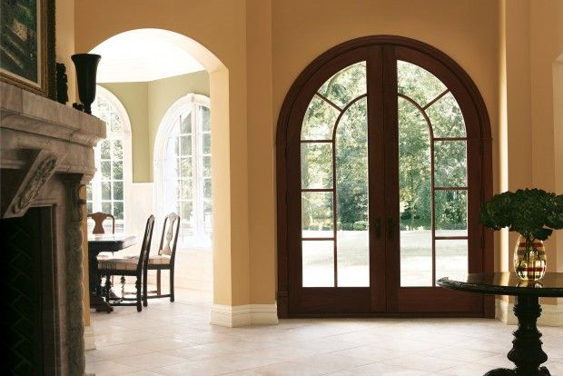 Arches Contemporary Glass New Trends In Front Door