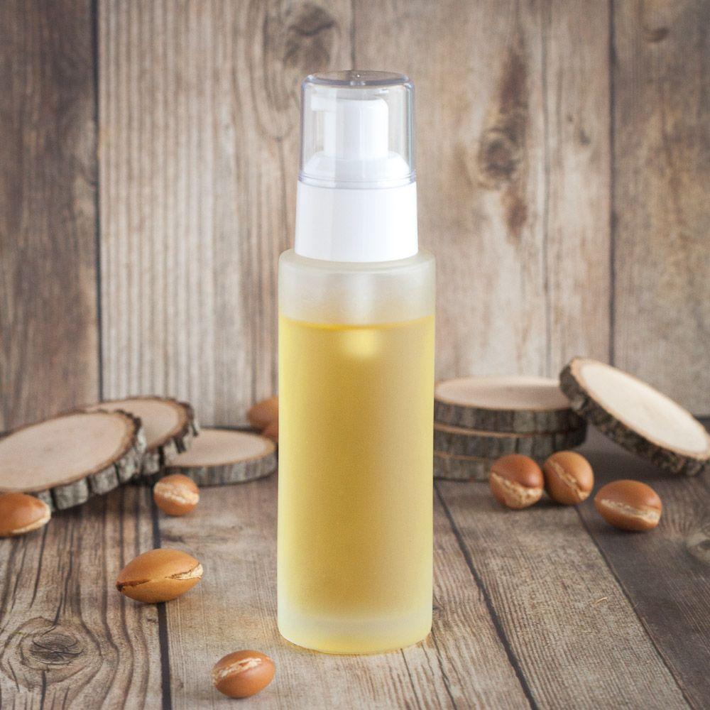 Beautifying hair serum with precious african oils hair