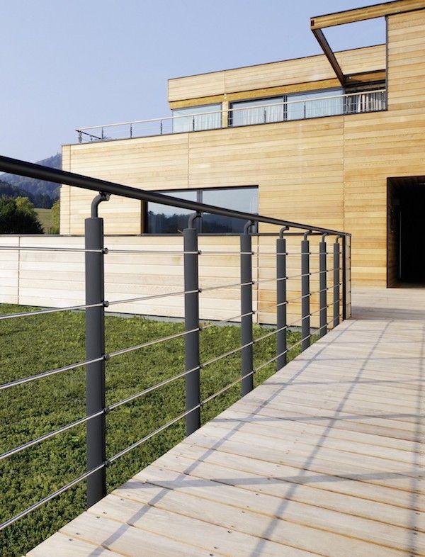 Balustrade Aluminium Inoline Balustrade Aluminium Escalier Exterieur Cour Cloturee