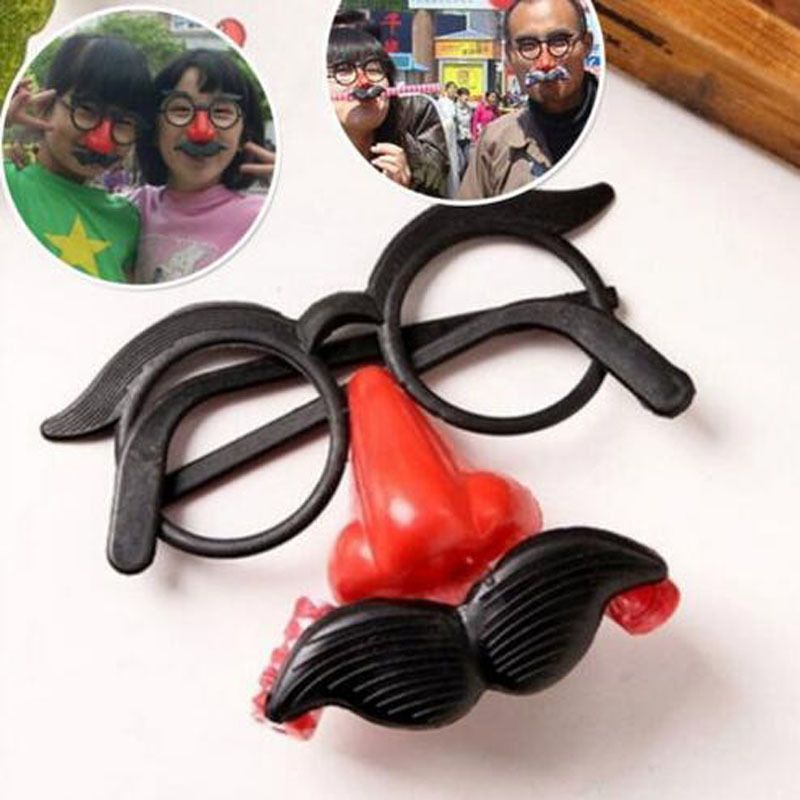 99f3878f1d0 Design Funny Beard Glasses False Nose Costume Toys For April Fool s ...