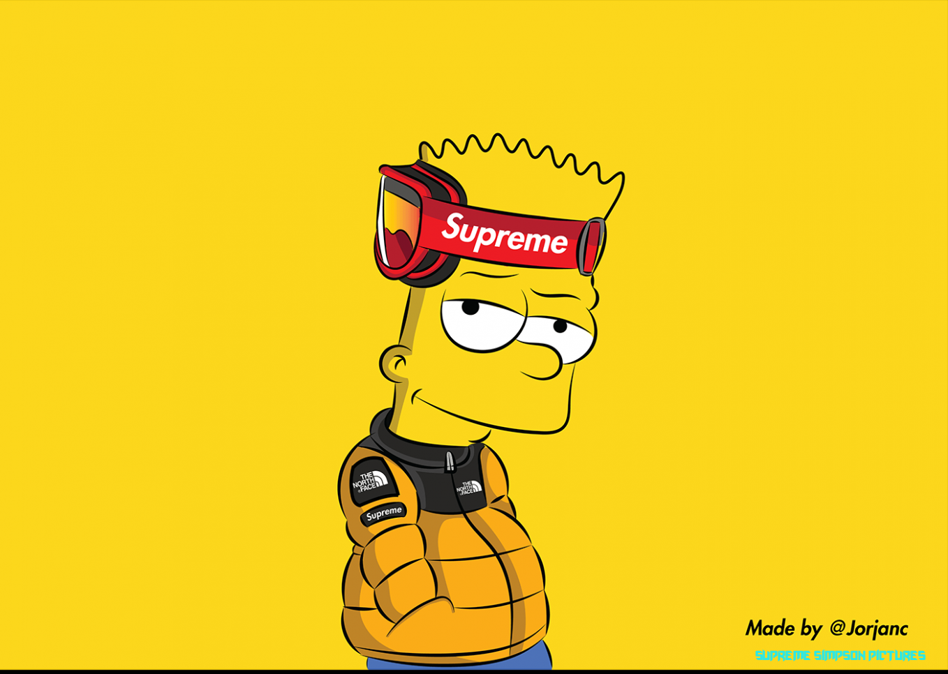 High Bart Simpson Supreme Wallpapers Top Free High Bart Simpson Supreme Simpson Pictures Bart Simpson Bart Simpson