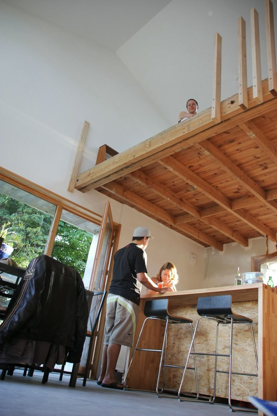week end garde corps en bois escalier mezzanine mezzanine et escaliers. Black Bedroom Furniture Sets. Home Design Ideas