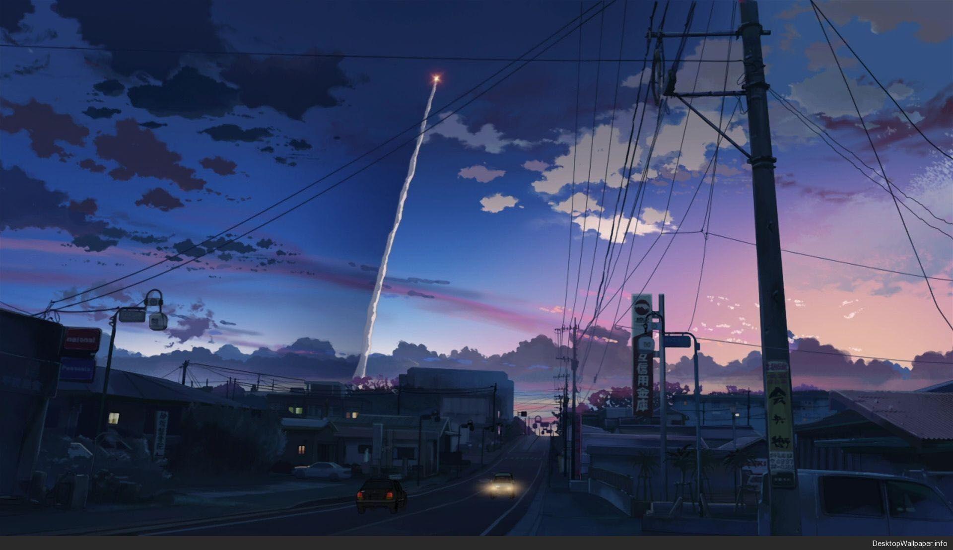 Popular In Amajikitamaki Anime Scenery Wallpaper Scenery Wallpaper Landscape Wallpaper Anime wallpaper aesthetic pc