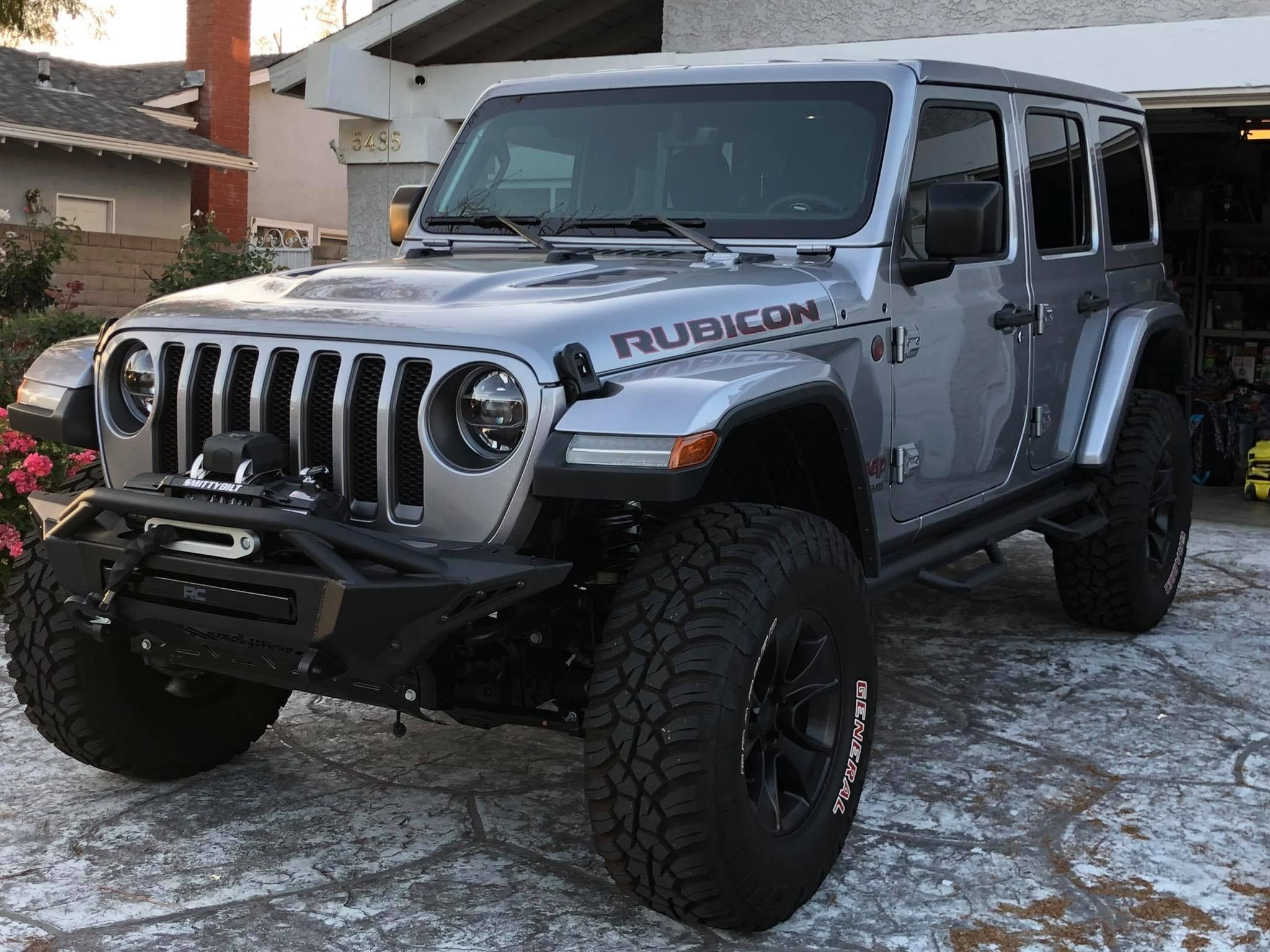2018 2020 Jeep JL/JT Stealth Fighter Winch Front Bumper