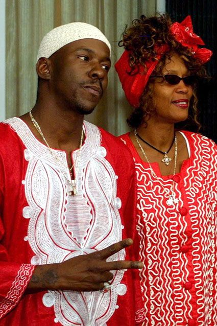 Whitney and Bobby in Israel, circa 2003.
