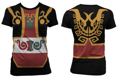 Full Print WW Ganon Costume Womens T Shirt XS-3XL