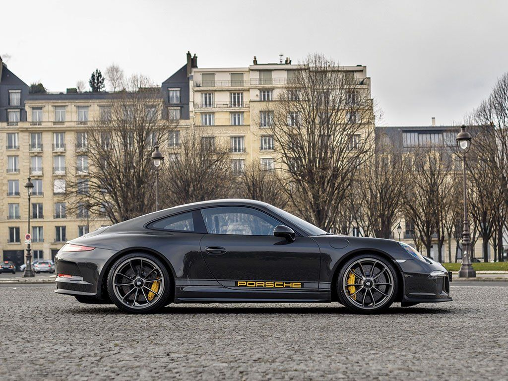 This is the only PTS Porsche 911 R delivered in France, finished in Slate Grey and bound for auction.