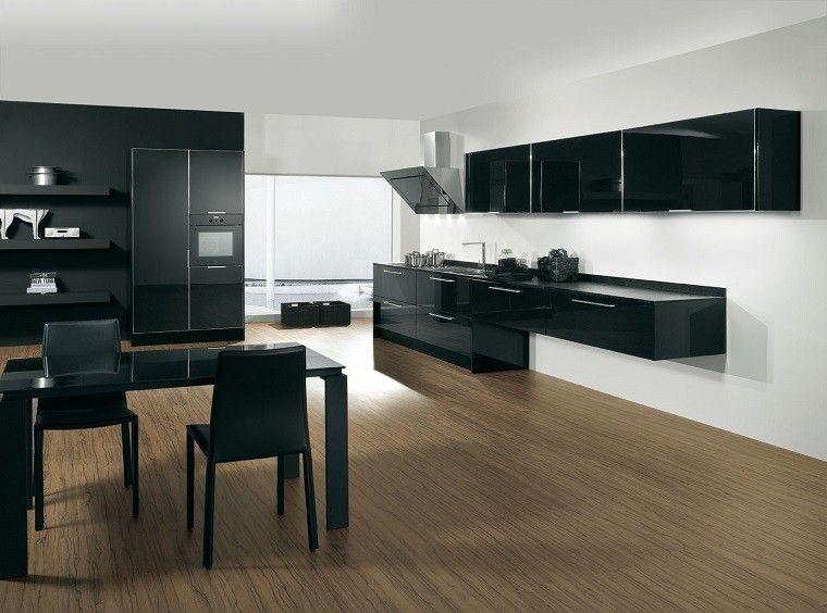 Cocinas blancas y negras - 50 ideas geniales a considerar Cocina