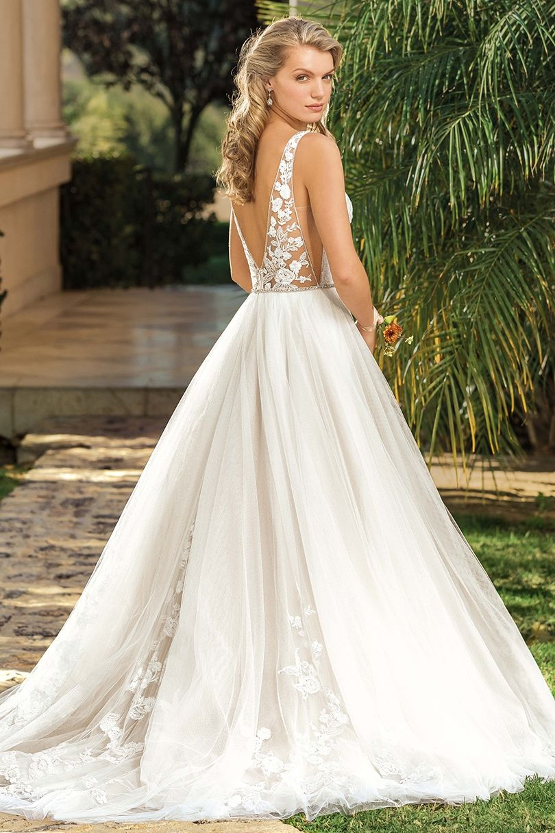 Pin On Vacation In Versailles Collection By Casablanca Bridal [ 1215 x 810 Pixel ]