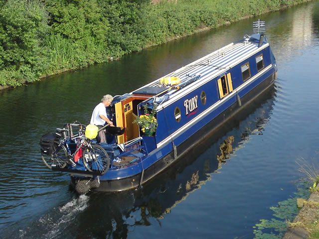 Storing Bikes On Boats: Love The Bike Rack And The Name :)