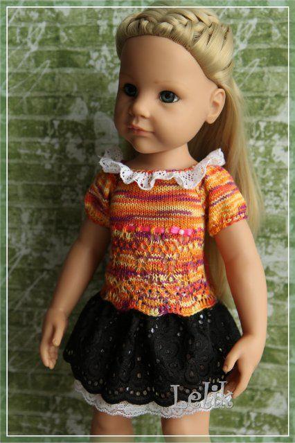 Кофточку для куклы своими руками 734